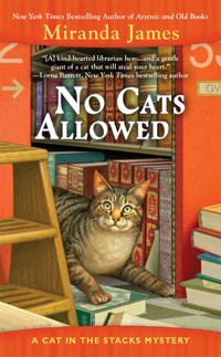 miranda james' NO CATS ALLOWED